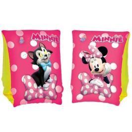 Dětské nafukovací rukávky Bestway Minnie pink