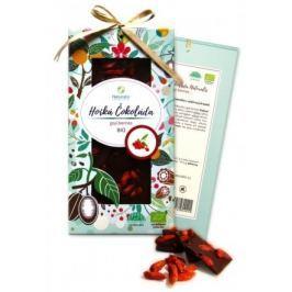 BIO Hořká čokoláda Naturalis s goji berries 80g