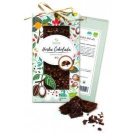 BIO Hořká čokoláda Naturalis s kakaovými boby 80g