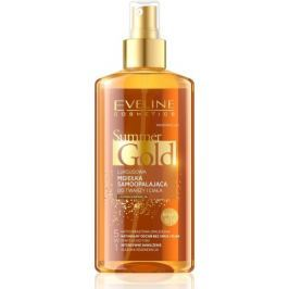 Summer Gold Self-tanning Face&body tmavá pleť