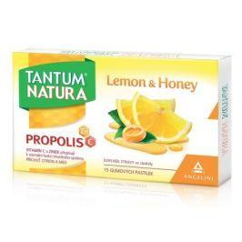 Tantum Natura Lemon&Honey 15 gumových pastilek