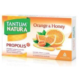 Tantum Natura Orange&Honey 15 gumových pastilek