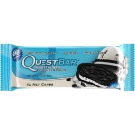 Quest Nutrition, Quest Bar, 60 g, Cookies & Cream
