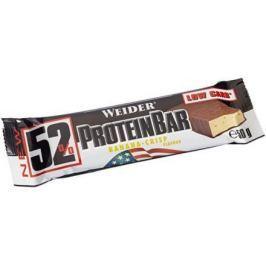 Weider, 52% Protein Bar, 50 g, Banán