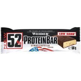 Weider, 52% Protein Bar, 50 g, Stracciatella