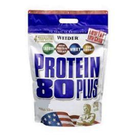 Weider, Protein 80 Plus, 2000 g, Jahoda