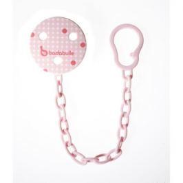Badabulle klip na dudlík Pink Dots