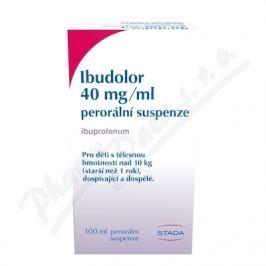 Ibudolor 40mg/ml por.sus. 1x100ml