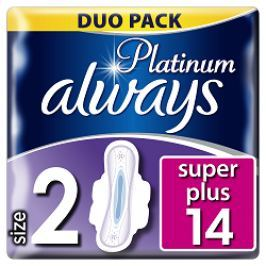 Always vložky Ultra Platinum Super Duo 12ks