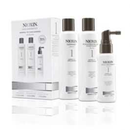 Nioxin Hair System 1 - Cleanser Shampoo 150 ml, Scalp Revitaliser Conditioner 150 ml,  Scalp Treatment 50 ml