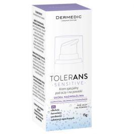 Zklidňující oční krém Dermedic Tolerans 15 g