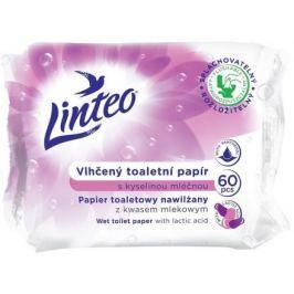 Vlhčený toaletní papír LINTEO s kyselinou mléčnou 60ks sáček