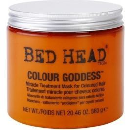 TIGI Bed Head Colour Goddess Miracle Treatment Mask Maska pro barvené vlasy 580 g