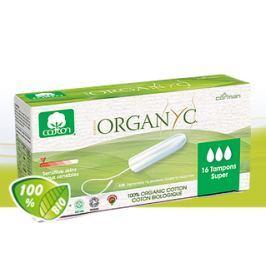 Menstruační tampony z biobavlny SUPER 16 ks