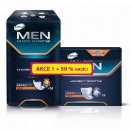Inkont.vlož.TENA Men Level 3 50% navíc 750862 24ks