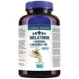 Melatonin Mučenka Meduňka B6 80+20tablet