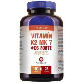 Vitamin K2 MK 7+D3 Forte tbl.100+25 Zdar