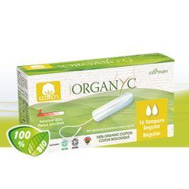 Menstruační tampony z biobavlny REGULAR 16 ks