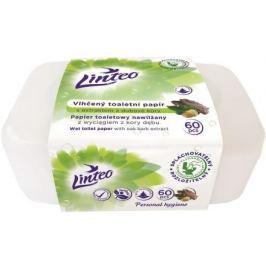 Vlhčený toaletní papír LINTEO s dubovou kůrou 60ks BOX