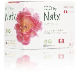 Dámské ECO tampóny Naty (18 ks) - regular