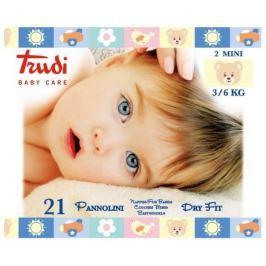 Trudi Dry Fit Dětské pleny Mini 3-6kg 21ks