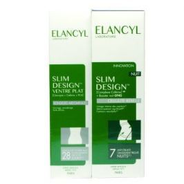 ELANCYL Slim Design Noční 200ml+Ploché břicho150ml