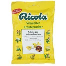 RICOLA Schweizer kräuterzucker bylinný drops 75g