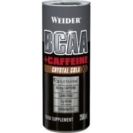 Weider BCAA + Caffeine drink, Crystal Cola, 250 ml, pomeranč-mango