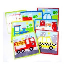 Puzzle do vany Dopravní prostředky