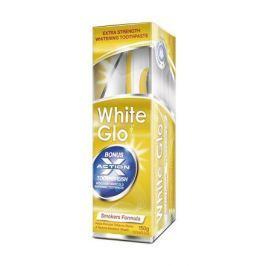 White Glo zubní pasta Smokers 150g pro kuřáky + kartáček a mezizubní kartáček ZDARMA