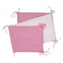Skládací  mantinel, pink/little dots