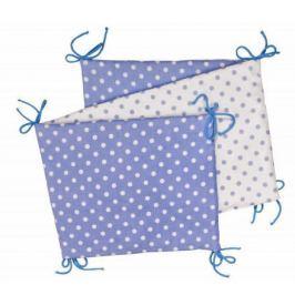 Skládací mantinel, blue/ little dots