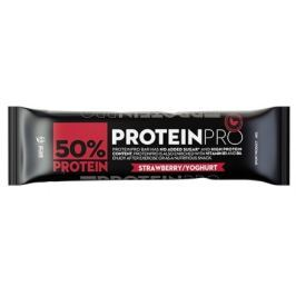 PROTEINPRO 50% Proteinová tyčinka jahoda jogurt 45 g