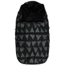 Dooky footmuff vel. S BLACK TRIBAL DeLuxe