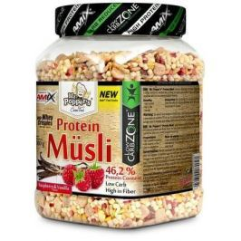 AMIX Protein Müsli 500g Raspberry-Vanilla