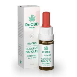 BioVita 5% CBD konopný olej 10 ml