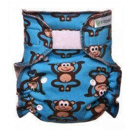 Kalhotková plena - přebalovací set suchý zip, monkies