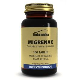 Herba medica Migrenax 100 tbl.