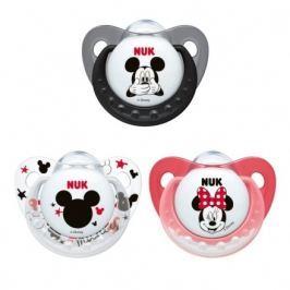 NUK Dudlík Disney Mickey SI V1(0-6m) 1ks 730137