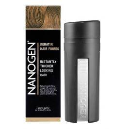 Nanogen keratinová vlákna zahušťovač vlasů 30g skořicová