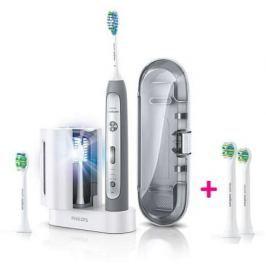 Philips Sonicare FlexCare Platinum sonický elektrický zubní kartáček s UV sanitizérem HX9172/14
