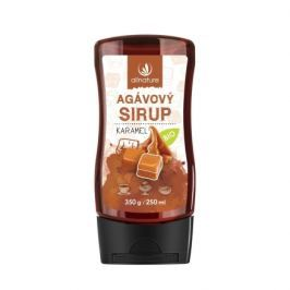 Allnature Agávový sirup Karamel BIO 350 g