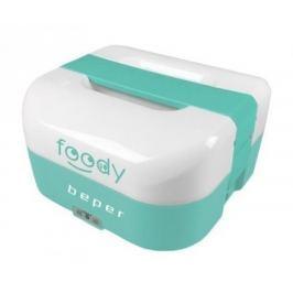 BEPER BC160A elektrický obědový box, 1.6l, duální napájení, modro-zelený