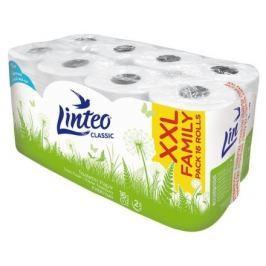 Toaletní  papír LINTEO CLASSIC 16 rolí, bílý, 2-vrstvý
