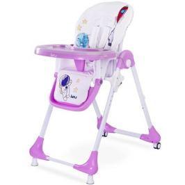 Jídelní židlička CARETERO Luna lavenda