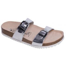 Zdravotní boty pantofle 2002/M1 silver - Vel. 39