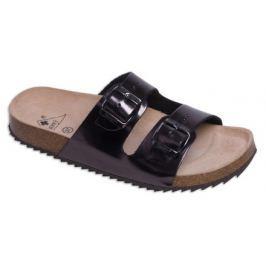 Zdravotní boty pantofle 2002/M2 grafit - Vel. 37