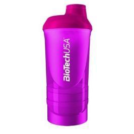 BiotechUSA Shaker Wave+ 600ml(+250ml+100ml)