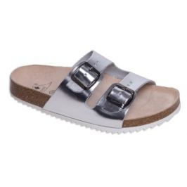 Zdravotní boty pantofle 2002/M2 silver - Vel. 36