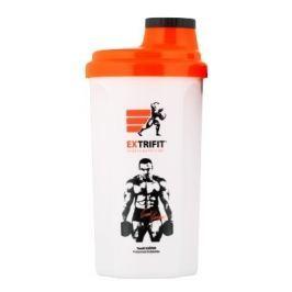 Shaker Extrifit 700 ml bílo oranžový